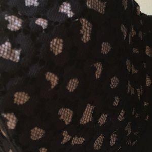 Cacique Intimates & Sleepwear - 42F cacique black and pink sexy bra